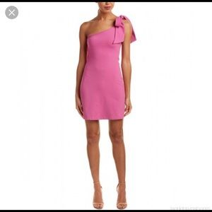 Susana Monaco Tie-Shoulder Sheath Dress  (NWT)